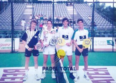 MUNDIAL 1996 JUAN MARTIN DIAZ CON PADOVANI